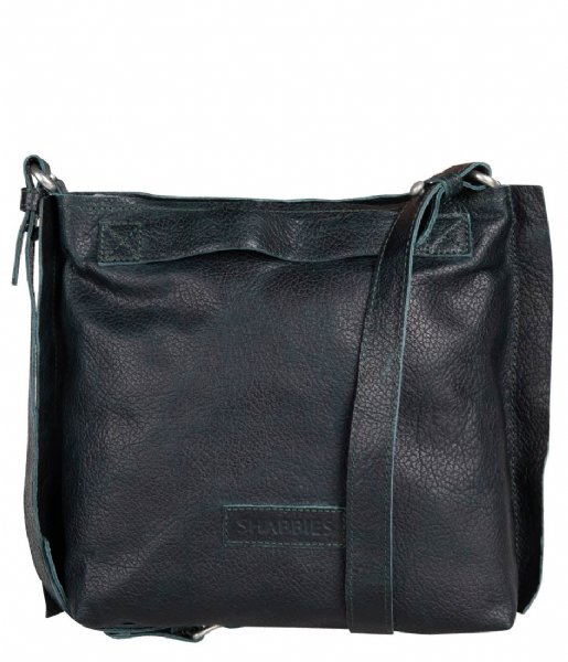 Shabbies  Shoulderbag Small Grain Leather dark green