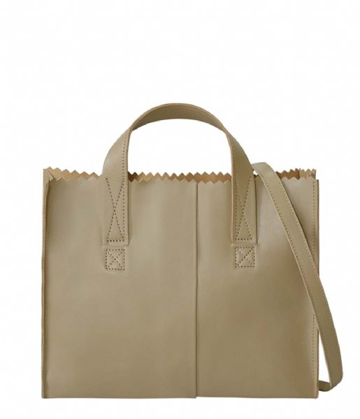 MYOMY  My Paper Bag Handbag Crossbody sand (1067-80)